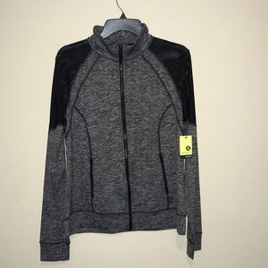 Xersion long sleeve active pullover jacket